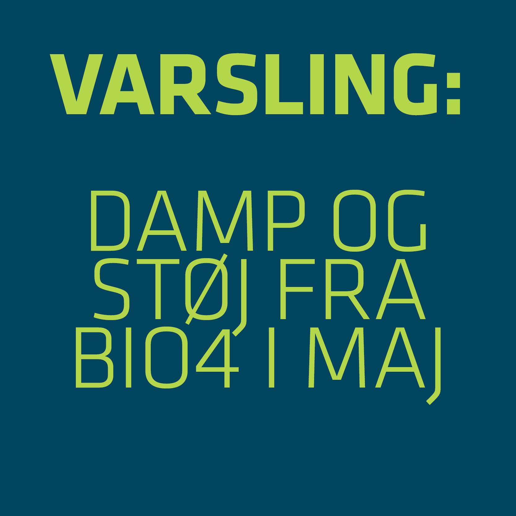 Varsling BIO4