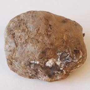 En kartoffel med skimle på