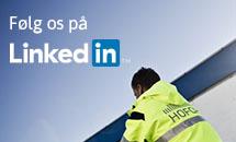 Link til HOFORs profil på LinkedIn