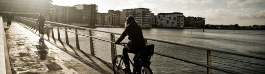 Bikes bridge