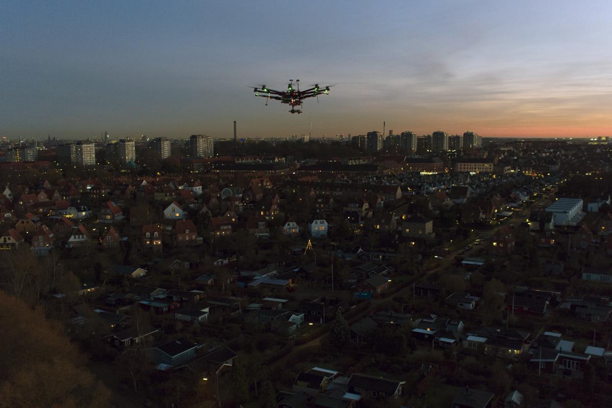 Drone i Brønshøj