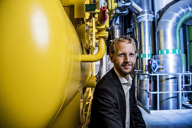 Billede af fjernkølingschef Henrik Lorentsen Bøgeskov