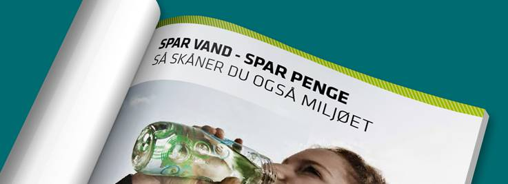 Brochure om vandspareråd