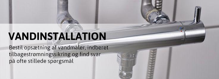 Vandinstallation