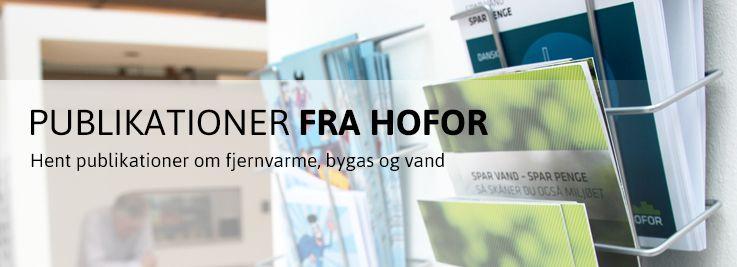 Publikationer fra HOFOR