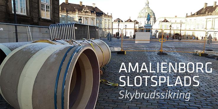 Skybrudssikring af Amalienborg Slotsplads