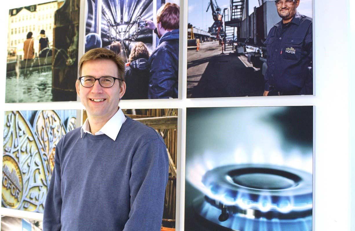 Billede af ny medarbejder i fjernkøling - Niklos Michaelsen