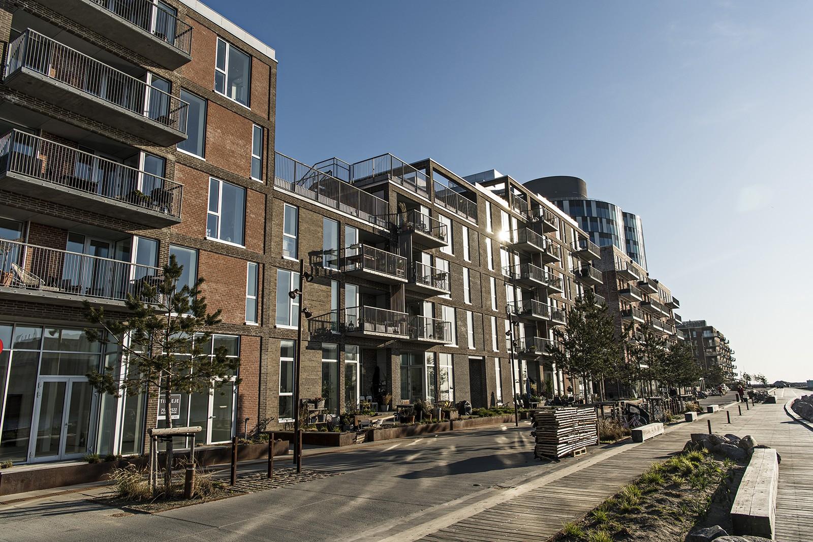 Lejlighedskompleks i nordhavn