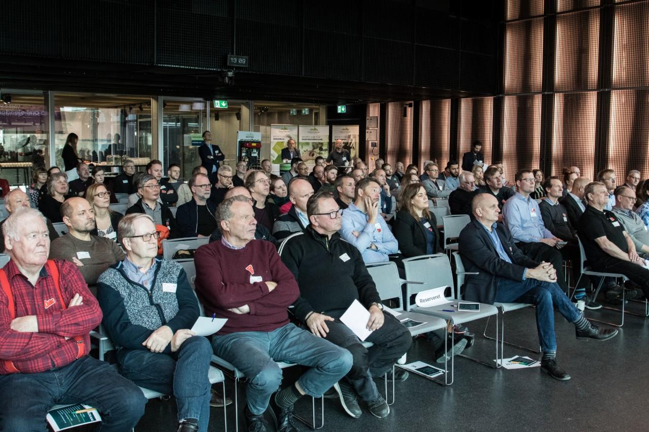 Billede af publikum ved uddeling af den gyldne termostat