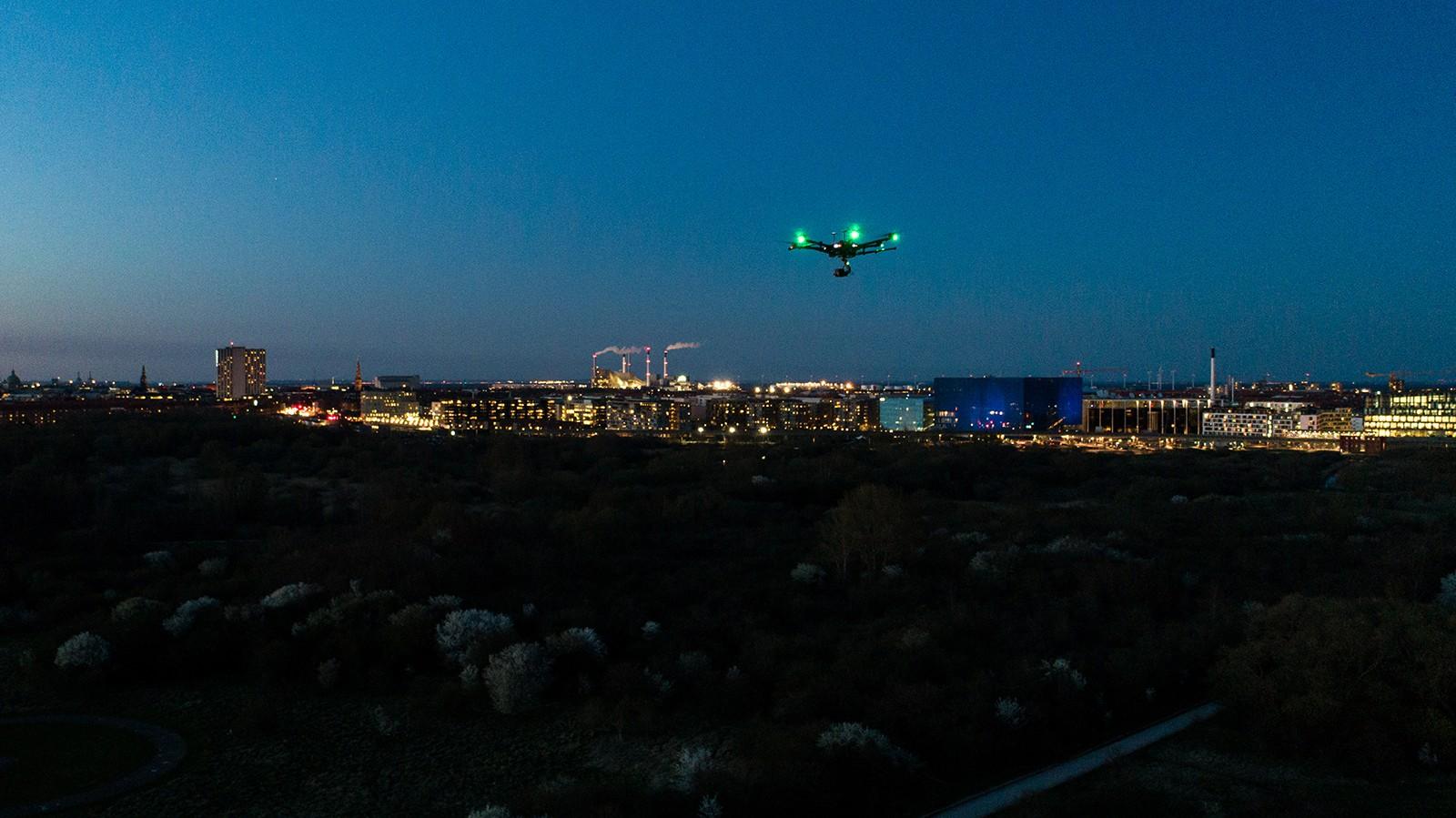 Drone ved Amagerværket