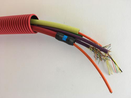 Billede af ledning til fibernet