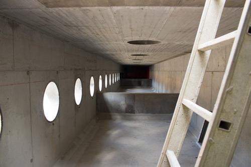 Indløb i beton