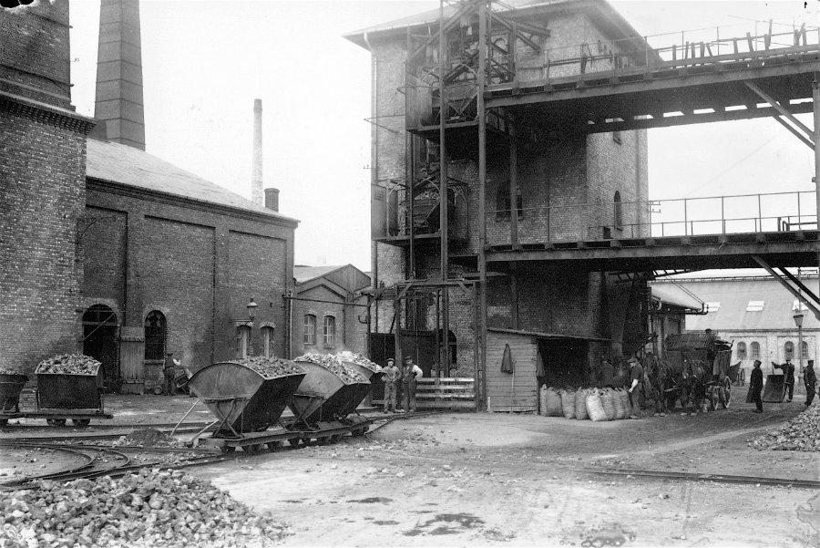 Ældre foto af Vestre Gasværk