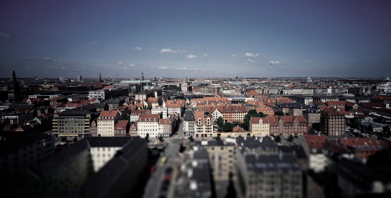 billede af udsigt over københavn