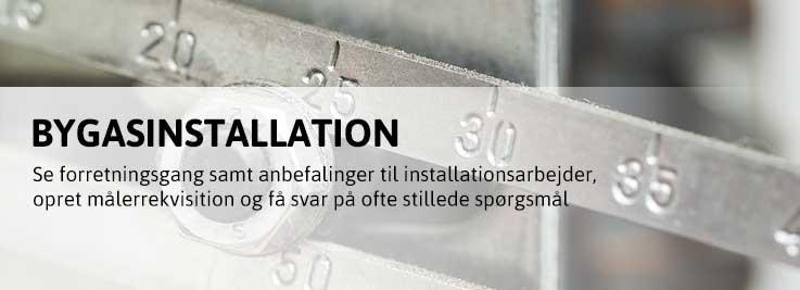 Bygasinstallation