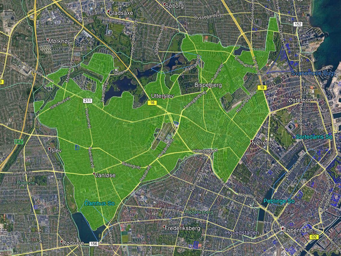 Drone lækagejagt København