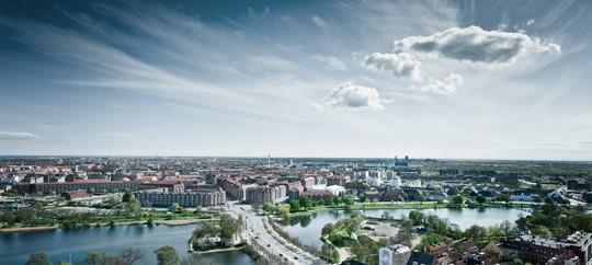 København set fra luften