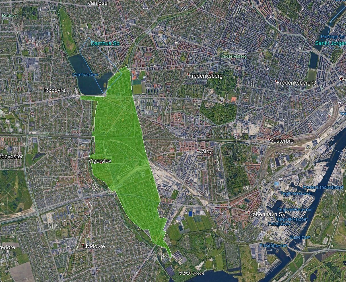 Droner lækagejagt København
