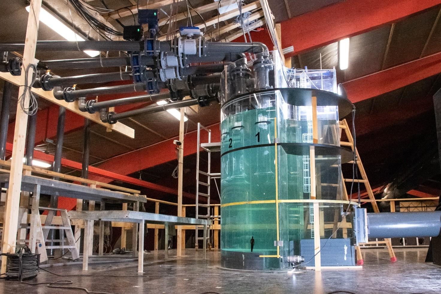 Modeltest af pumpe til Kalvebod Brygge Skybrudstunnel